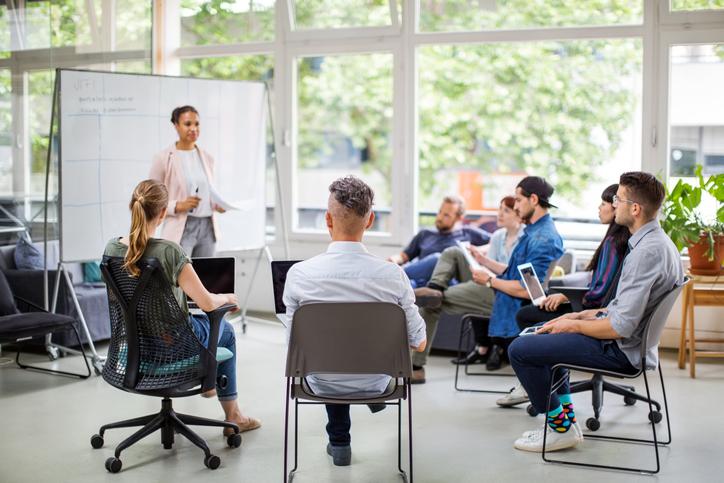 solução de gestão para treinamento